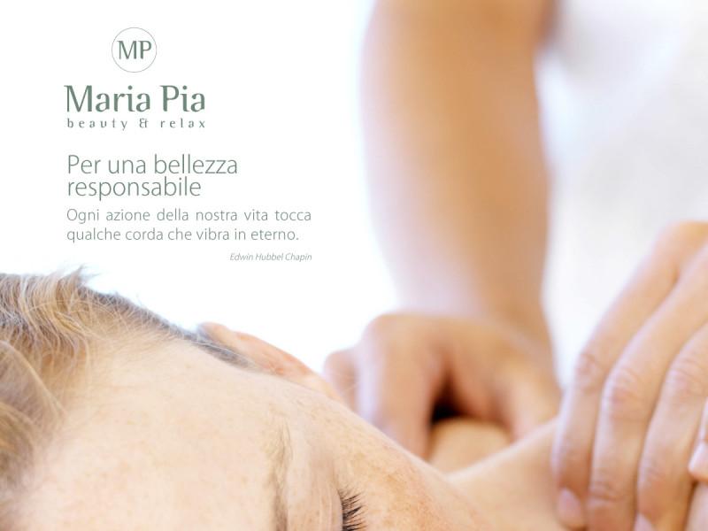 Nuova comunicazione del centro estetico Maria Pia